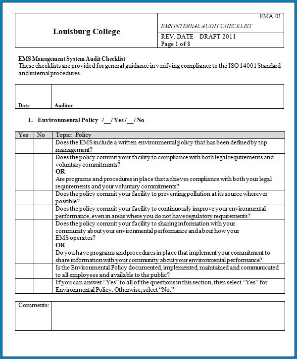 Training Checklist Template Word from www.checklist.templateral.com